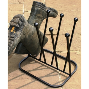 Boot brushes and Boot racks