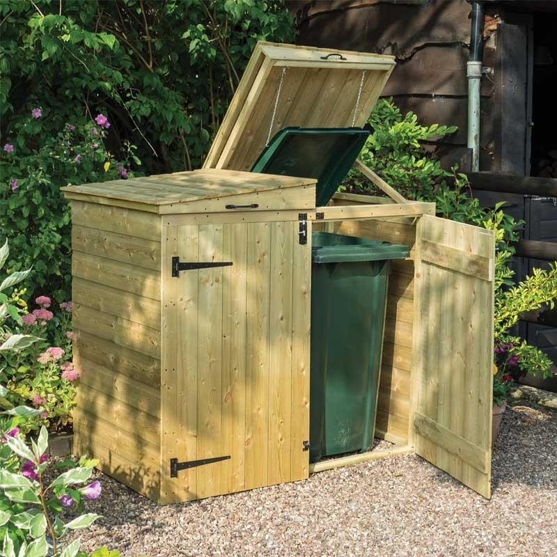 Garden Stores, Log, Wood, Bin, Mower and Tool stores and Outdoor Storage Boxes