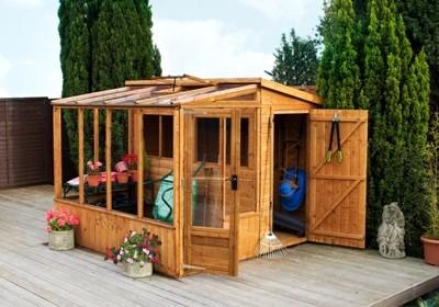 Greenhouses & Potting Sheds