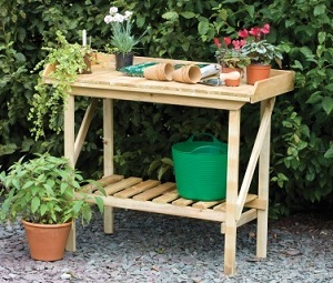 Potting Tables and Potting Sheds