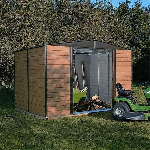 Metal sheds, workshops and storage