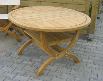 Oval Table for Pavillions H72 x 134 x 118cm