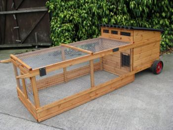 Aylesford Coop - Chicken or duck house with run for up to 5 hens or ducks