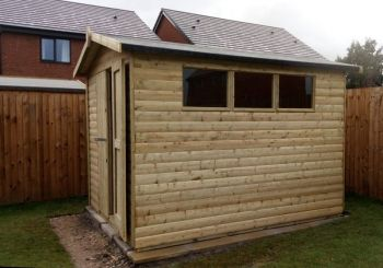 10 X 8 Apex Shed
