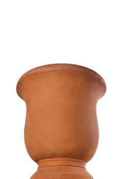 French Goblet Rust Wet Medium Pot