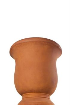 French Goblet Rust Wet Large Pot