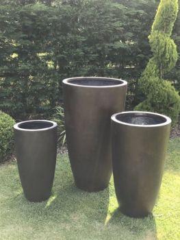 Tall Crucible Cast Iron Medium Pot
