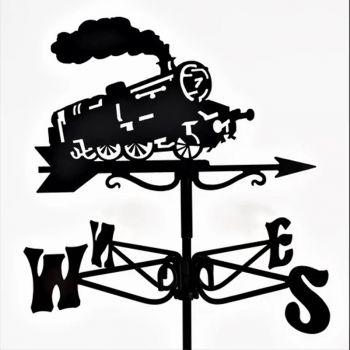 Mini Steam Train Weathervane