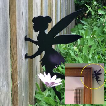 Fairy Tinkerbell Fence Topper