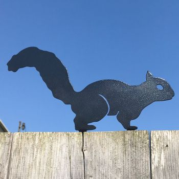 Squirrel Fence Topper