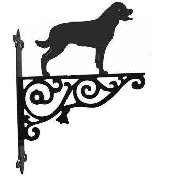Rottweiler Ornamental Hanging Bracket