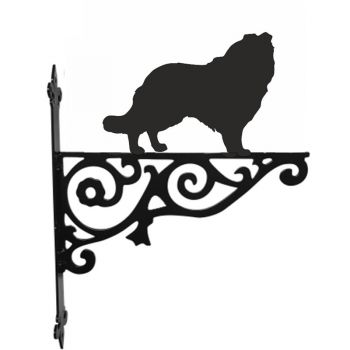 Rough Collie Ornamental Hanging Bracket
