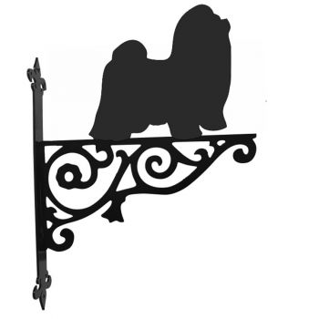Shih Tzu Ornamental Hanging Bracket