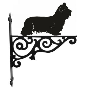 Skye Terrier Ornamental Hanging Bracket