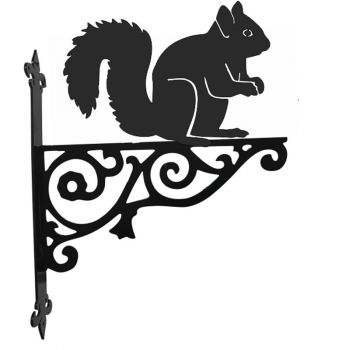 Squirrel Ornamental Hanging Bracket
