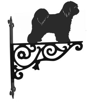 Tibetan terrier Ornamental Hanging Bracket