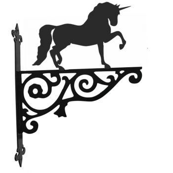 Unicorn Ornamental Hanging Bracket