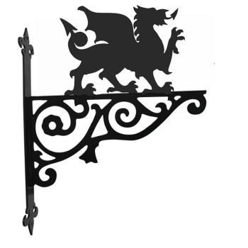Welsh Dragon Ornamental Hanging Bracket