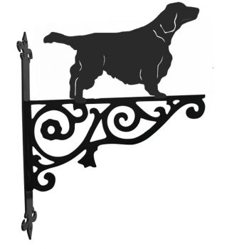 Welsh Springer Spaniel Ornamental Hanging Bracket