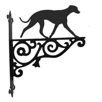 Whippet Ornamental Hanging Bracket