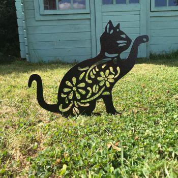 Cat Garden Art