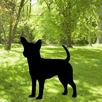 Chihuahua Garden Art