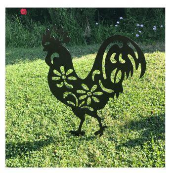Cockerel Garden Art