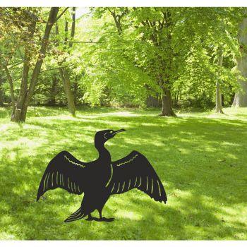 Cormorant Garden Art