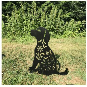 Dog Garden Art