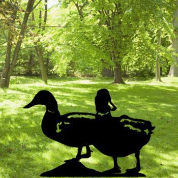 Ducks Mallards Garden Art