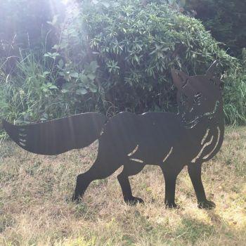 Fox Garden Art
