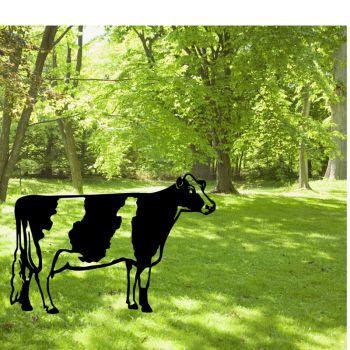 Freisian Cow Garden Art