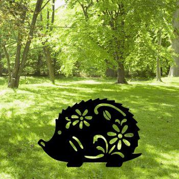 Hedgehog Garden Art