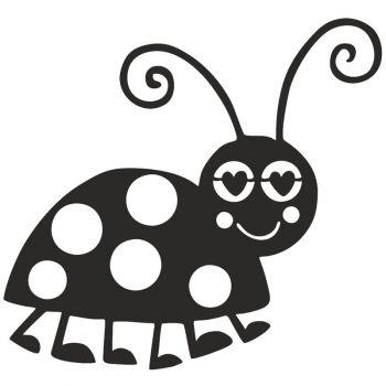 Ladybug Garden Art