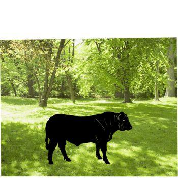 Large Bull Garden Art
