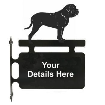 Mastiff Hanging Sign