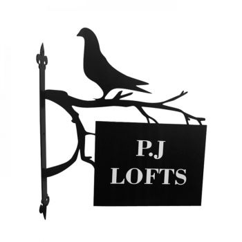 Pigeon House Hanging Sign