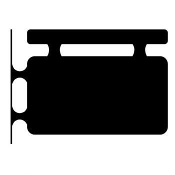 Plain Hanging Sign