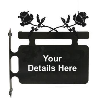 Rose Hanging Sign