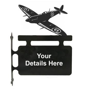 Spitfire Hanging Sign