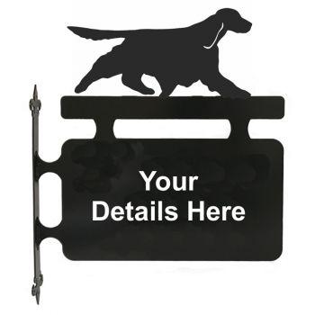 Springer Spaniel Hanging Sign
