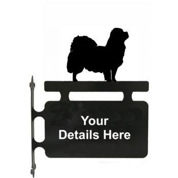 Tibetan Spaniel Hanging Sign