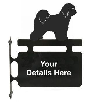 Tibetan Terrier Hanging Sign