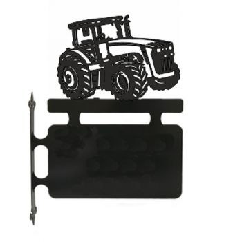 Tractor Hanging House Sign