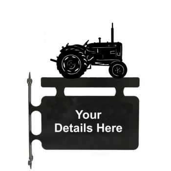 Tractor Nuffield Hanging Sign