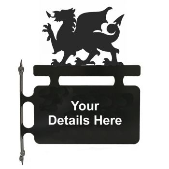 Welsh Dragon Hanging Sign