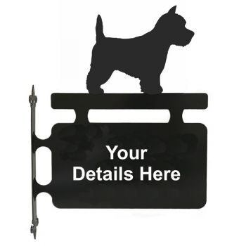 West Highland White Terrier Hanging Sign