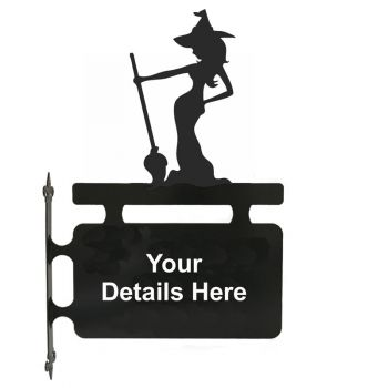 Witch Hanging Sign