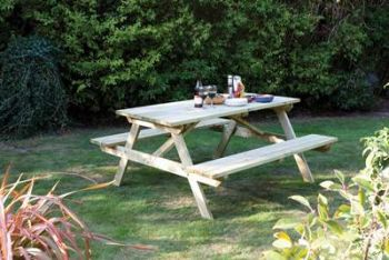 5ft Picnic Bench