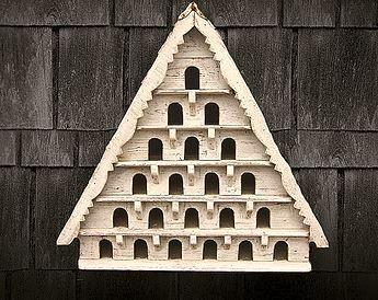 Six Tier Birdhouse (Medium hole)